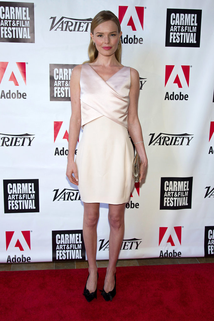 Kate Bosworth stunned in Dior at the fifth annual Carmel Art and Film Festival in Carmel, CA.