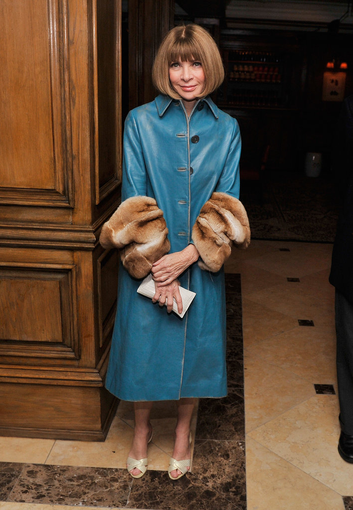 Anna Wintour attended a screening of The Fifth Estate in New York.