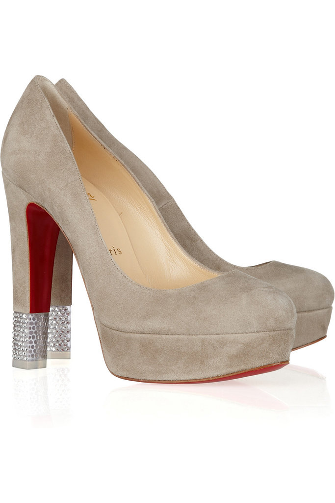Christian Louboutin Filter Crystal-Embellished Pumps ($550 on sale)