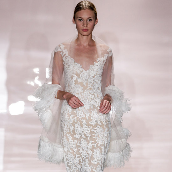 Reem Acra Bridal Fall 2014: Birds of a Feather