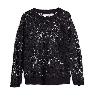 H&M Lace Sweatshirt Review