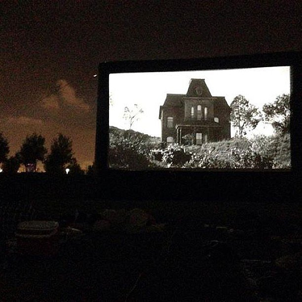 Watch a Scary Movie at the Drive-In