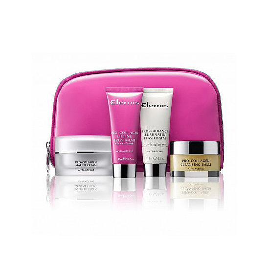 Elemis is giving a $15,000 donation to the Breast Cancer Care Fund, and you can put your two-cents into the pot by purchasing this Elemis Think Pink Beauty Collection ($58).