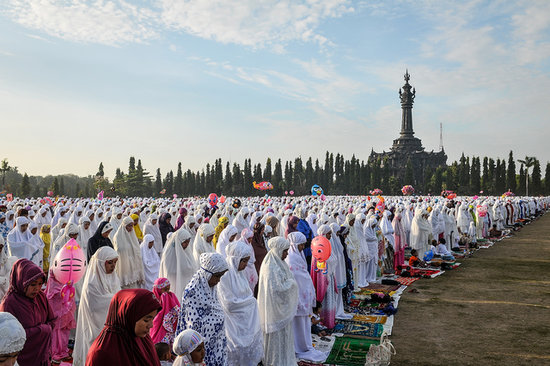 Muslims Across the Globe Gather For Eid al-Adha