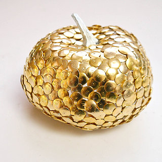 DIY Thumbtack Pumpkin