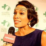 Rosario Dawson on Leonardo Dicaprio at Green Gala | Video