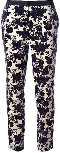 Tory Burch floral trouser