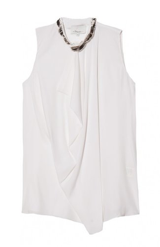 3.1 Phillip Lim Asymmetric Draped Top