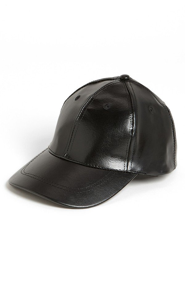 Let the sleek leather look extend all the way up top with this slick vegan look from BP ($18).