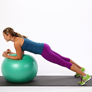 Lower Ab Exercise Using an Exercise Ball