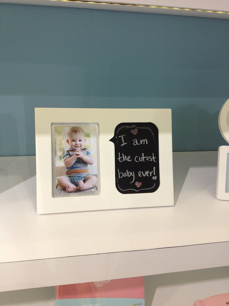 Pearhead's new chalkboard photo frames are right on trend!