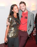 A sparkling Joy Bryant helped Lorenzo Martone kick off LA's Martone Cycling.