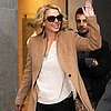 Britney Spears at the BBC Radio 1 Station in London