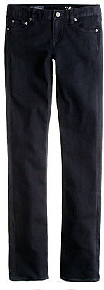 Matchstick jean in pitch black wash