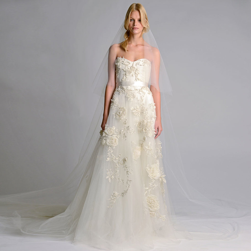 Bridal Fashion Week Wedding Dress Trends Fall 2014 POPSUGAR Fashion