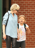 Matilda Ledger Wears Her Heart on Her Sleeve and Her Mom on Her Shirt