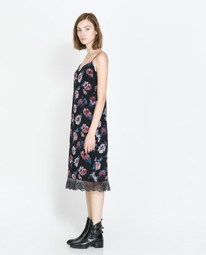 Floral Lingerie Style Dress