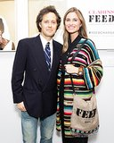 David Lauren joined Lauren Bush Lauren and Feed to celebrate Faces of Change: Portraits by Claire Courtin-Clarins.