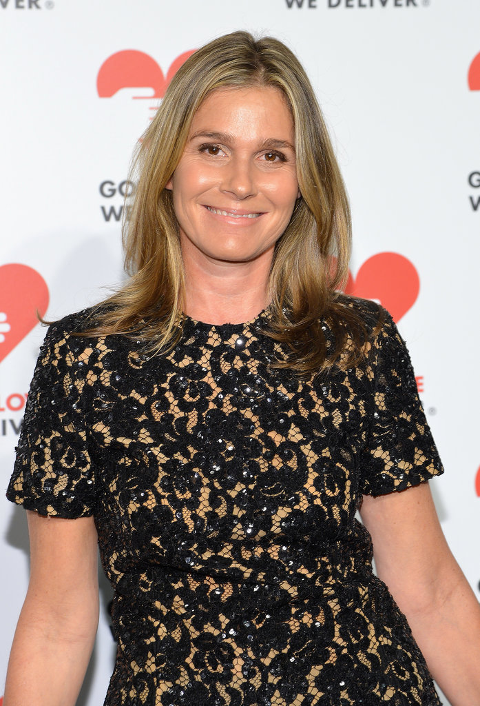 It's only right that Aerin Lauder showed up for the event sporting nothing but her gorgeously luminous skin.