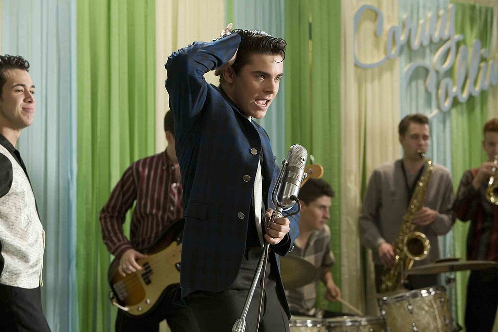 Hairspray In one of his first movies, Efron made all the sense in the world as a hip-swiveling, singing heartthrob that makes girls swoon.