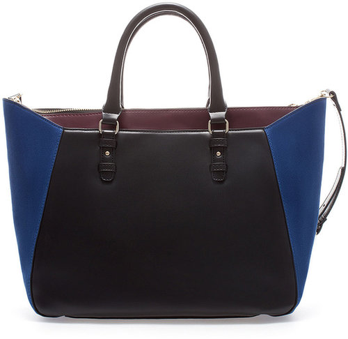 Combination Tote Style Shopper Bag