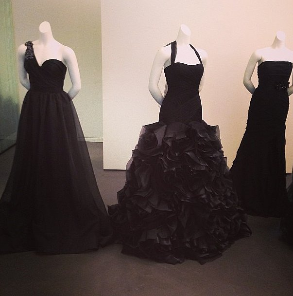 Would you wear any of these black bridal gowns from Vera Wang?