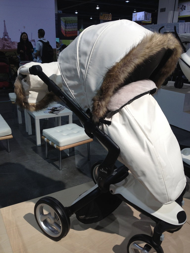 "Mima also offers a Winter ""outfit"" that will keep tots snug as a bug in a rug!"