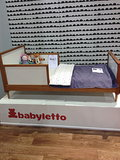 The Babyletto toddler bed is perfect for minimalist kids' rooms.