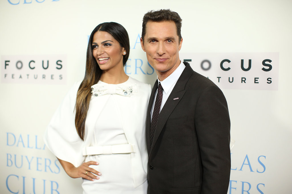 Matthew McConaughey and Camila Alves attended the premiere together in LA.