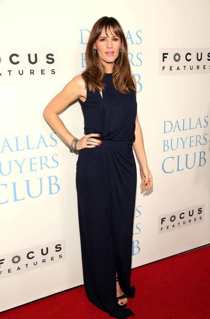 Jennifer Garner dressed up for the event on Thursday night.