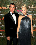Mother-to-be Gwen Stefani attended the Annenberg Gala with her husband, Gavin Rossdale.