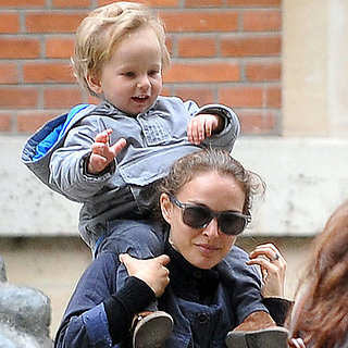 Natalie Portman With Aleph in Paris 2013