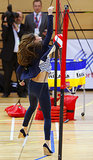 Kate Middleton played volleyball while at the Sportaid Athlete Workshop in London.
