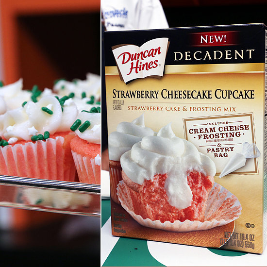 Duncan Hines Decadent Strawberry Cheesecake Cupcake Mix