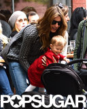 Gisele Bündchen grabbed lunch with Vivian Brady last weekend in NYC.