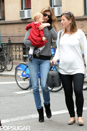 Gisele Bündchen Could Not Have a More Adorable Lunch Date