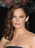 For the closing night gala and debut of Saving Mr. Banks, Ruth Wilson wore sideswept curls and a subtle smoky eye with a swipe of lip gloss.