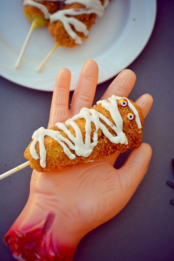 Gluten-Free Vegan Corn Dogs