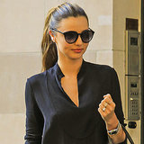 Miranda Kerr Wearing Jeans in NYC