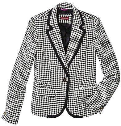 Merona® Women's Oxford Blazer - Assorted Prints