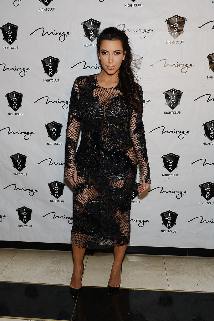 Kim Kardashian on New Year's Eve
