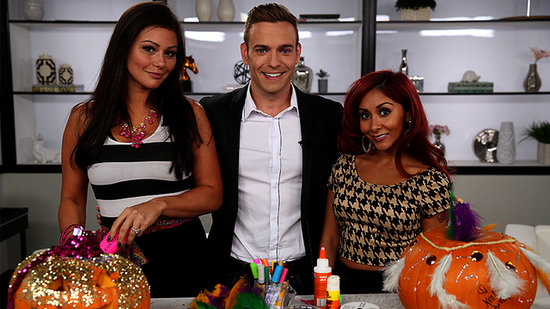 Watch Snooki and JWoww's Pumpkin-Carving Battle Royale