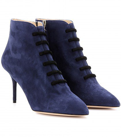 Charlotte Olympia - Helga suede boots
