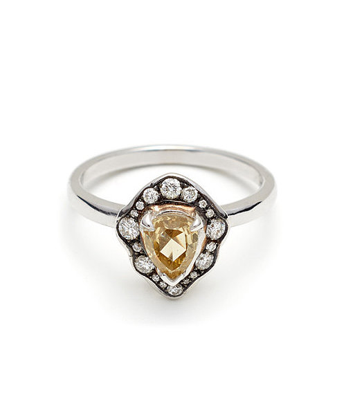 Anna Sheffield Camellia Petal Ring ($5,250)