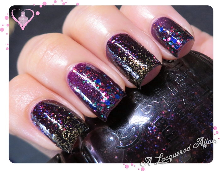 China Glaze Bat My Eyes and Fang-tastic over Howl You Doin'