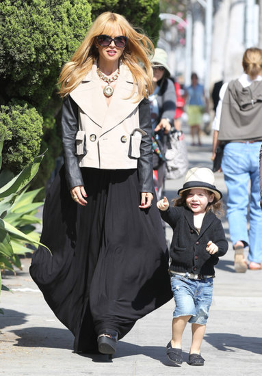 Rachel Zoe and Skyler Berman went for a walk in LA.