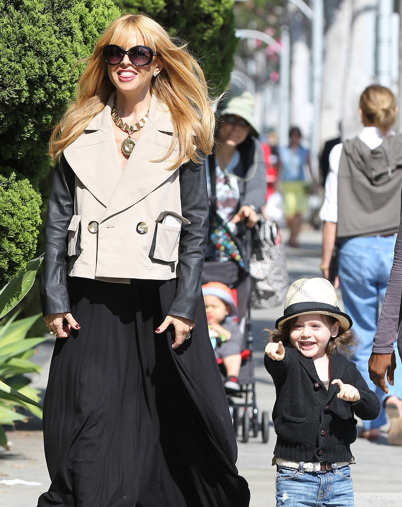 Rachel Zoe and Skyler Berman went to get frozen yogurt in LA.