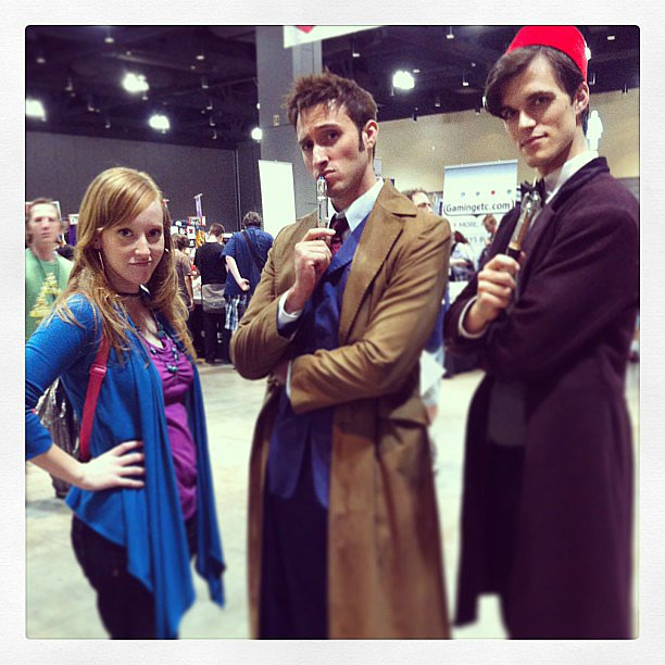Donna, Ten, and Eleven