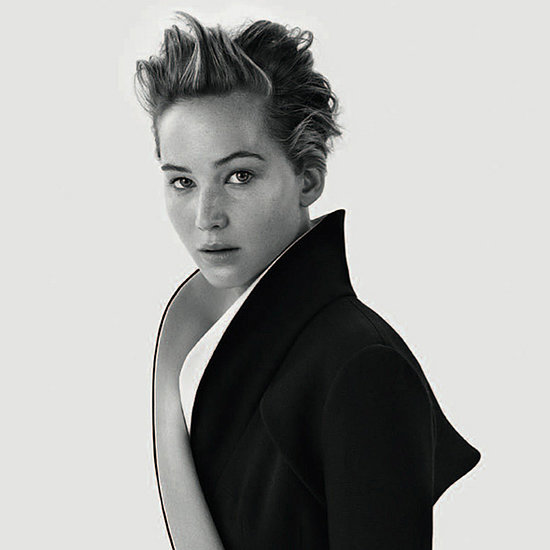 Jennifer Lawrence Strips Back For Dior