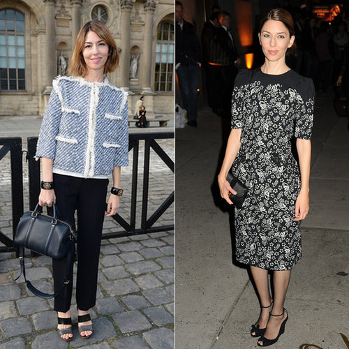 Sofia Coppola's Fashion Looks Over The Years